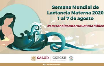 Semana Mundial de la Lactancia Materna 2020 del 1 al 7 de agosto