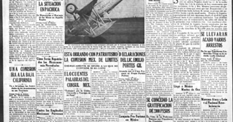 El Tucsonense, 1930.