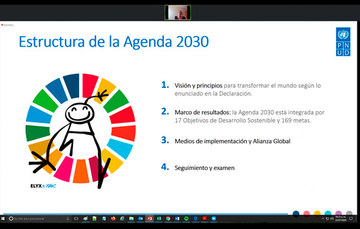 El objetivo de la Agenda es transformar al mundo, con medios de implementación y alianzas, que incluyan los temas social, económico y ambiental.