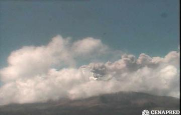 En las últimas 24 horas, mediante los sistemas de monitoreo del volcán Popocatépetl se identificaron 60 exhalaciones y 169 minutos de tremor.