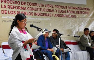 Reforma Indígena, un acto de elemental justicia social, afirman expertos en Foro Convocado por el Gobierno de México.
