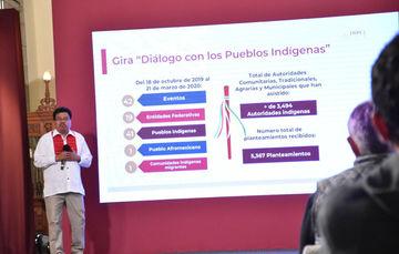 El INPI cumple el mandato de servir a los pueblos indígenas, garantizando el ejercicio de sus derechos y su desarrollo integral