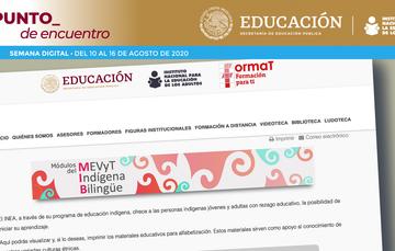 INEA desarrolla materiales de alfabetización en lenguas indÍgenas