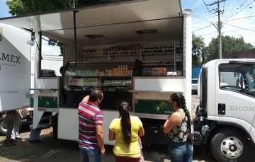 Diconsa dispone tiendas móviles en Michoacán ante contingencia sanitaria