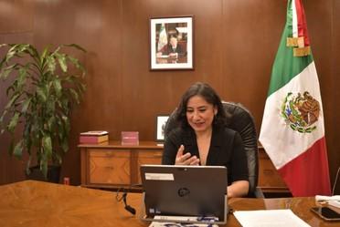 Secretaria Sandoval Ballesteros preside reunión nacional de contralores de México y llama a trabajar en conjunto contra la corrupción
