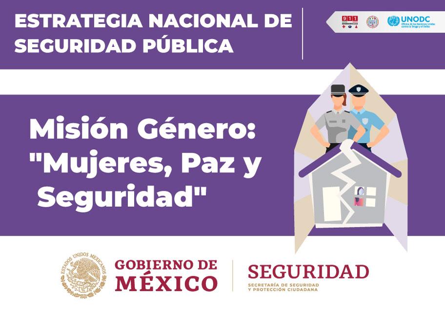 """Misión Género: """"Mujeres, Paz Y Seguridad"""""""