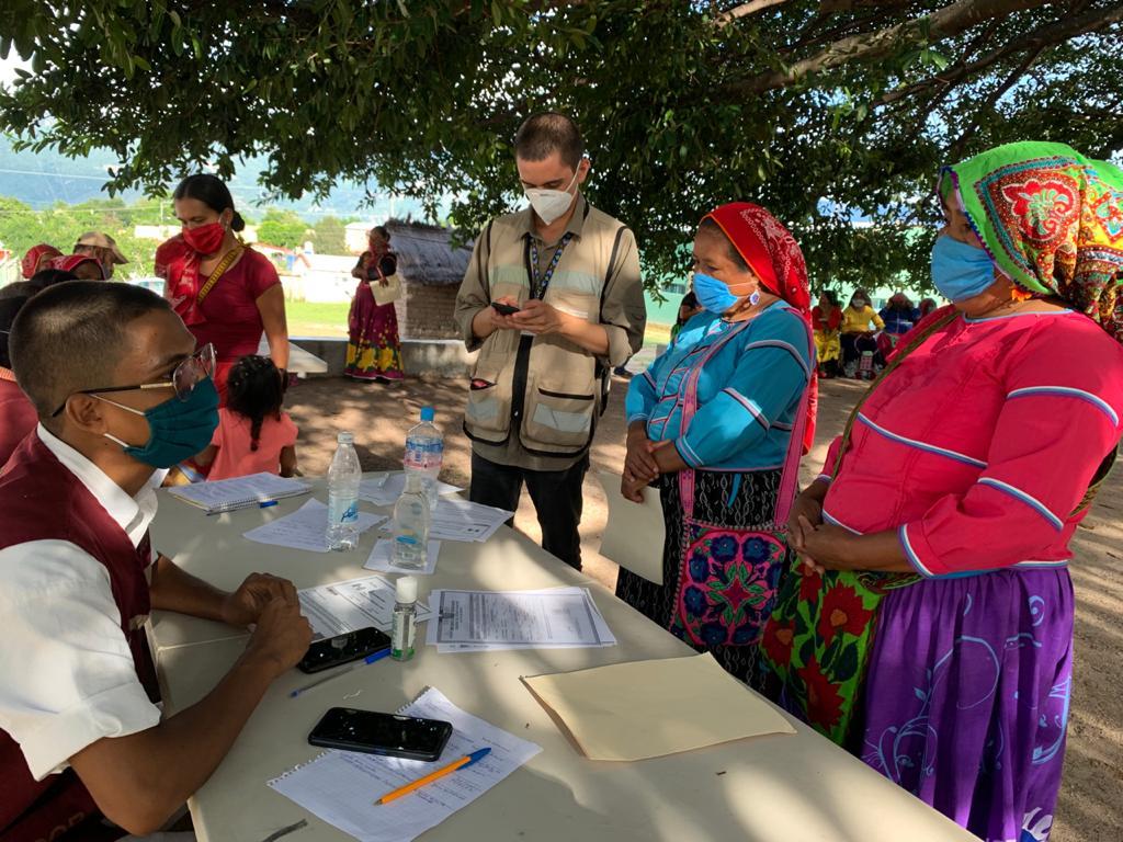 Registro de familias con hijos en Educación Básica, en el municipio de La Yesca, en el estado de Nayarit.