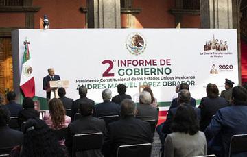 Fotografía del Presidente de México.