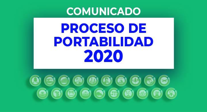 texto de anuncio a proceso de portabilidad