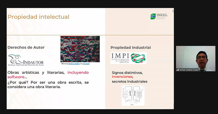 Se han realizado dos pláticas: Conceptos avanzados de patentes para inventores e Invenciones implementadas por computadora, dentro del ciclo de pláticas de PI.