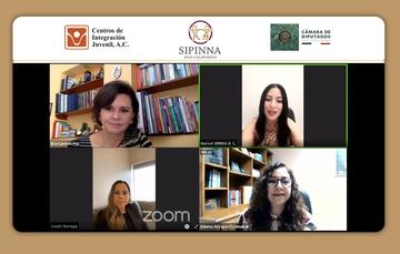 Conversatorio con SIPINNA en Baja California.