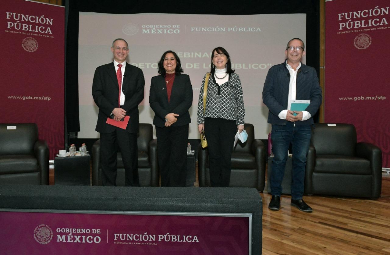 La restauración de lo público es la piedra angular de la Cuarta Transformación, afirma Sandoval Ballesteros