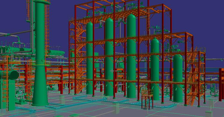 Ingeniería, Refinación, plantas industriales