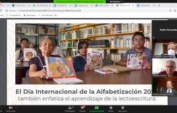Representa alfabetización mayor calidad de vida y una herramienta clave de los derechos humanos en el mundo: Esteban Moctezuma Barragán