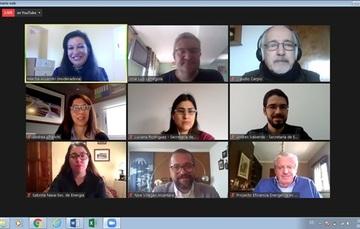 Apoya Conuee webinars de capacitación dirigidos a las Redes de Aprendizaje en Gestión de la Energía en la Argentina