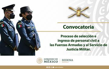 Convocatoria Justicia Militar