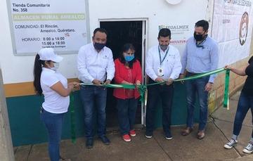 Abre Diconsa tienda en Amealco, Querétaro