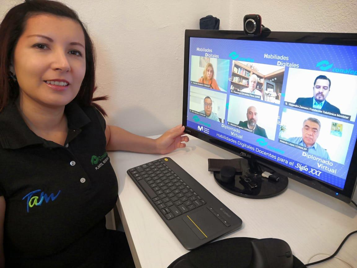 Boletín No. 248 Refuerza Conalep habilidades digitales y pedagógicas del personal docente