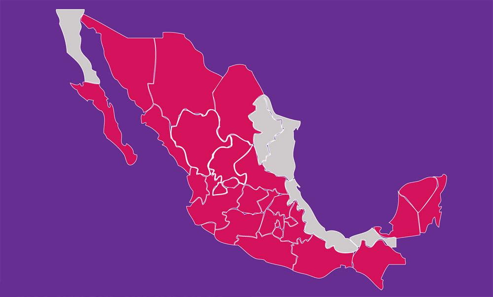 Centros de Justicia para las Mujeres (CJM) en México. Adicionalmente, se encuentran en proceso de construcción otros 10 CJM