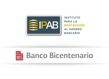 Información Importante Banco Bicentenario