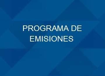 PROGRAMA DE EMISIONES