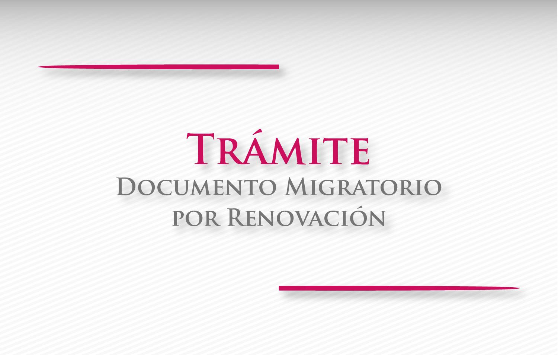 Preguntas frecuentes para solicitar la expedici n de documento migratorio por renovaci n - Tramites legales para alquilar un piso ...
