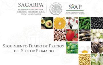 Seguimiento diario de precios del sector primario