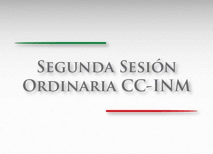 Segunda Sesión Ordinaria del Consejo Ciudadano del INM