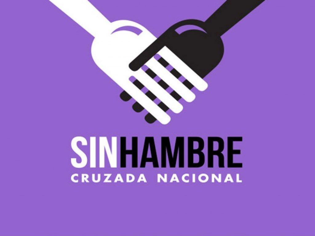 Cruzada Nacional Contra el Hambre.