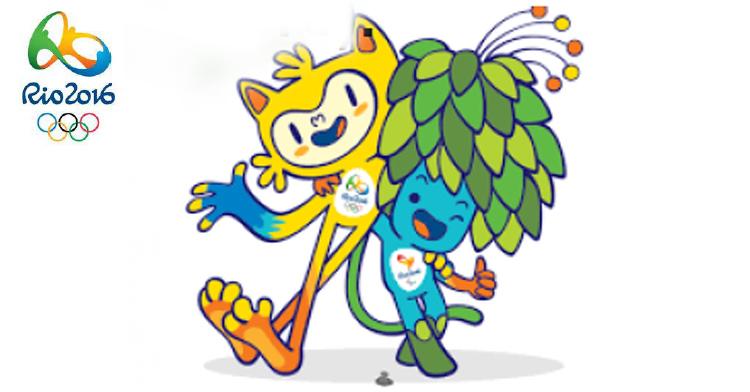 """Mascotas de los Juegos """"Olímpicos y Paralímpicos, Brasil, 2016"""""""