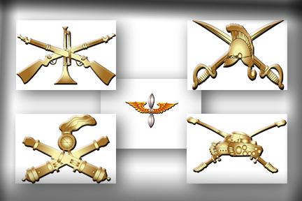 Distintivo: Indica su Arma, Servicio, Especialidad o cargo dentro de ...