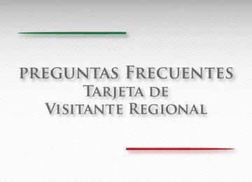 Tarjeta de Visitante Regional