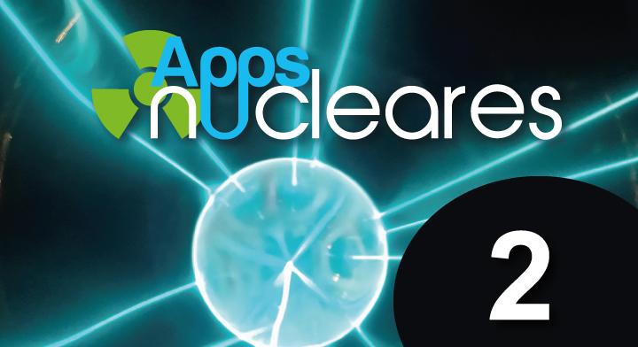 Portada de la revista de divulgación de la ciencia y tecnología nuclear para jóvenes APPS Nucleares 2