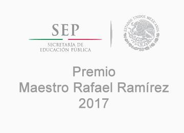 PREMIO RAFAEL RAMÍREZ