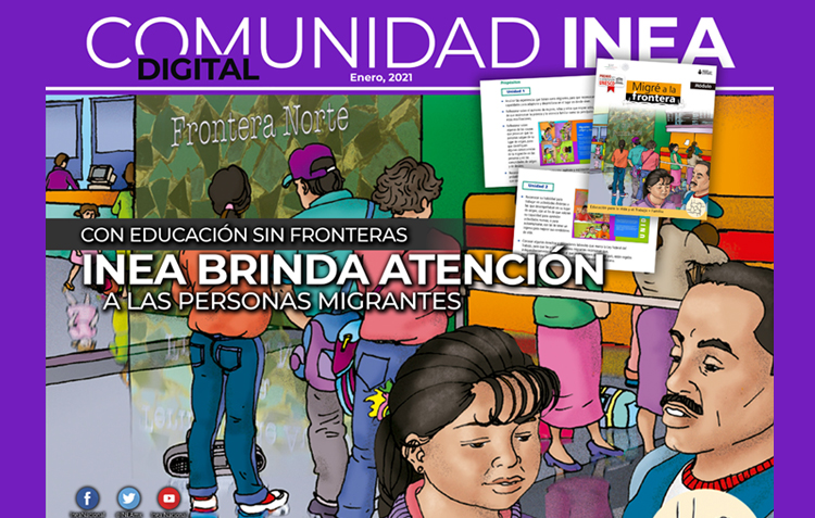 INEA brinda atención a las personas Migrantes