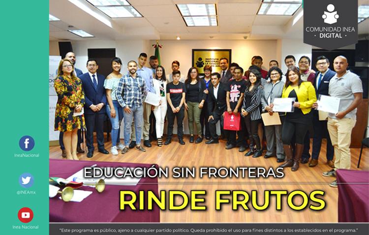 Imagen de la Revista Comunidad INEA - FOMENTA LA LECTURA