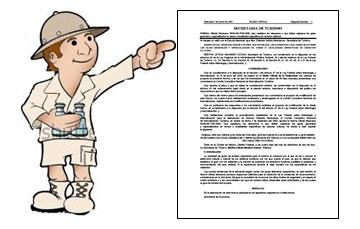 Lineamientos para el registro diplomados y cursos para guías de turistas