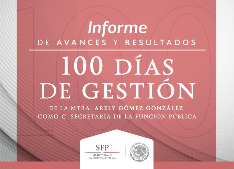Informe de Avances y Resultados - 100 Días de Gestión