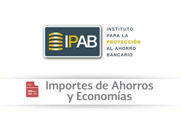 Importes de Ahorros y Economías.