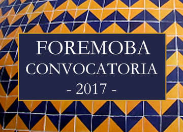FOREMOBA CONVOCATORIA 2017