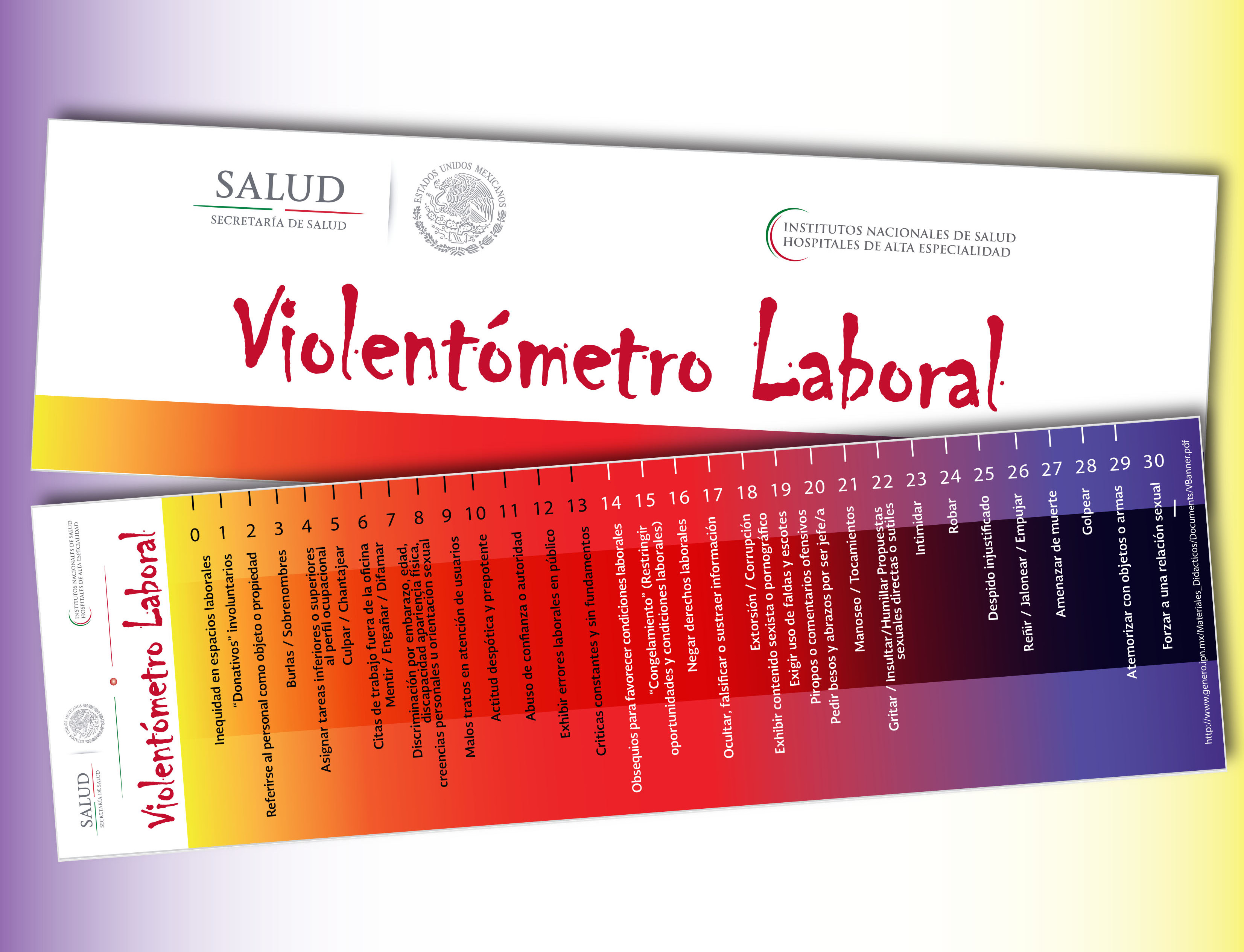 Violentómetro Laboral para la SS