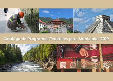 Catálogo de Programas Federales para Municipios