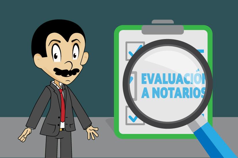 Evaluación a Notarios