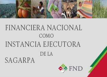 Financiera Nacional como Instancia Ejecutora de la SAGARPA