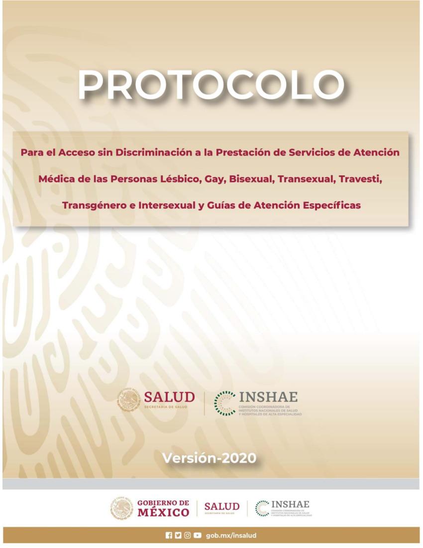 Protocolo Comunidad LGBTTI DT Versión 2020