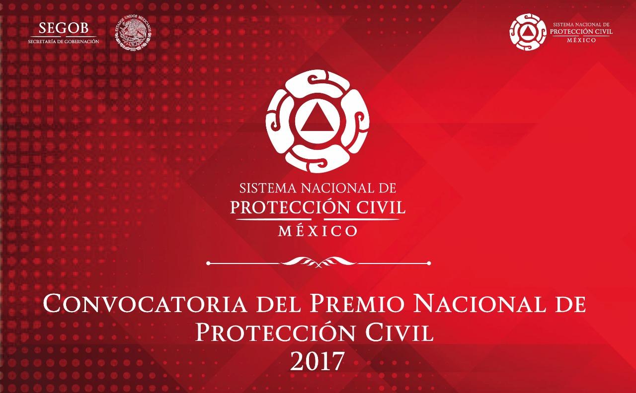 Convocatoria del Premio Nacional de Protección Civil 2017