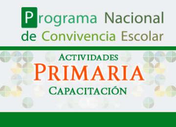 Cuadernos Programa nacional de convivencia escolar