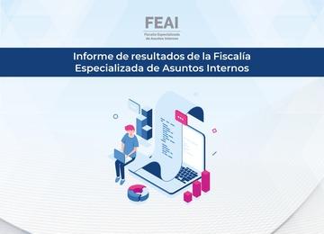 Imagen de una gráfica y logotipo de FEAI