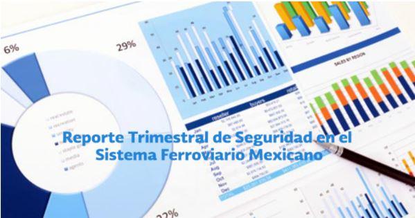 Reportes Trimestrales de Seguridad en el Sistema Ferroviario Mexicano.
