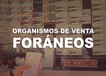 En este documento, puedes consultar la lista de Organismos, o puntos de venta de Billetes de Lotería Nacional en toda la república Mexicana. Excepto zona Metropolitana y Ciudad de México actualizado del 2018